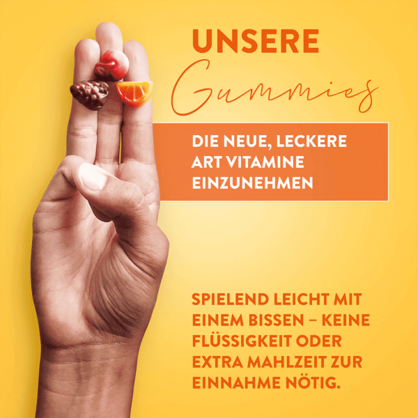 Alive! Multivitamin Family Gummies, besondere Merkmale (USP)