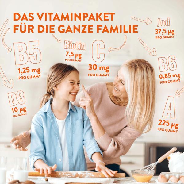 Alive! Multivitamin Family Gummies, Vorteile, für die ganze Famile