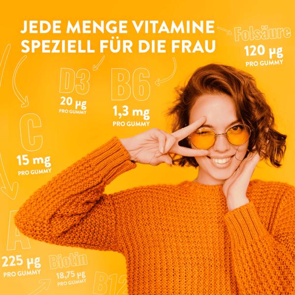 Alive! Women's Multivitamin Gummies, Vorteile, speziell für Frau
