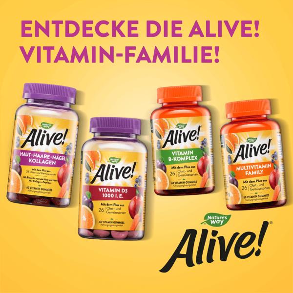 Weitere Alive! Produkte, Vitamin-Familie